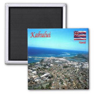 HI - Hawaii - Kahului Square Magnet