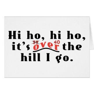 Hi Ho 40 Card