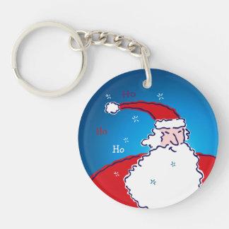 Hi Ho Santa Key Ring