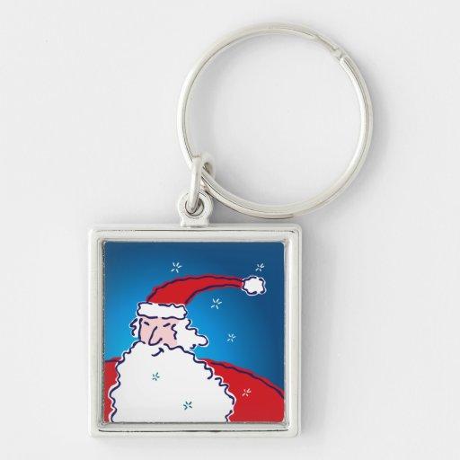 Hi Ho Santa Keychains