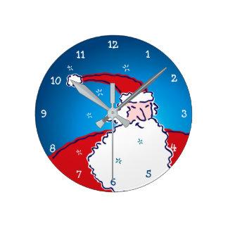 Hi Ho Santa n Round Clock