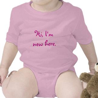 Hi I m new here Shirt