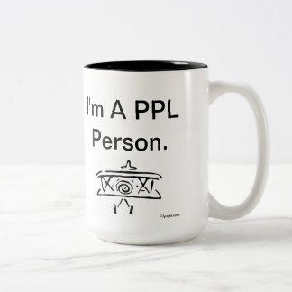Hi. I'm a PPL Person. Two-Tone Mug