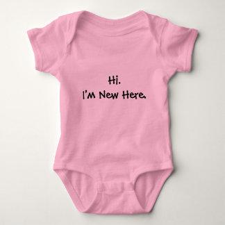 Hi. I'm New Here. Baby Bodysuit