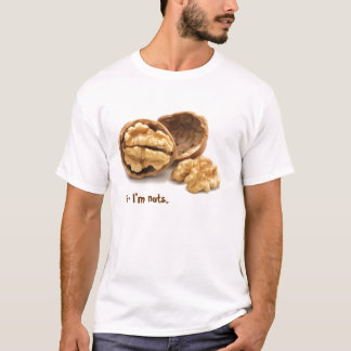 """Hi - I'm nuts"" tee shirt"