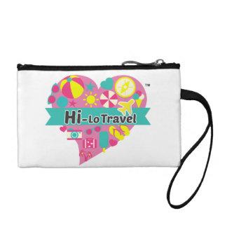 Hi-Lo Travel Clutch - Duo Color Change Purses