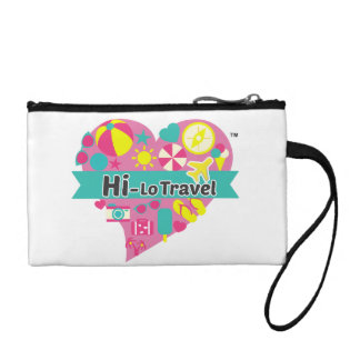 Hi-Lo Travel Clutch - Duo Colour Change Purses