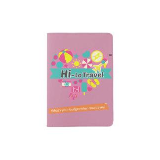 Hi-Lo Travel Passport Holder - Vintage Pink