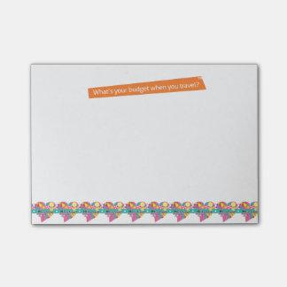 Hi-Lo Travel Post-it® Notes