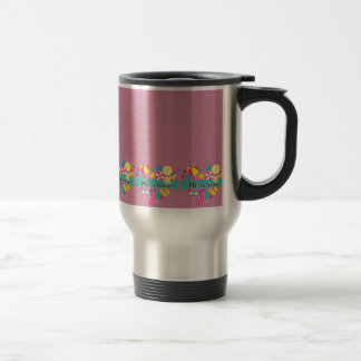 Hi-Lo Travel, Travel Mug - Vintage Pink