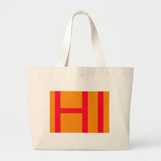 Hi, may mean hello, or HI as in Initials of Hawaii Canvas Bag