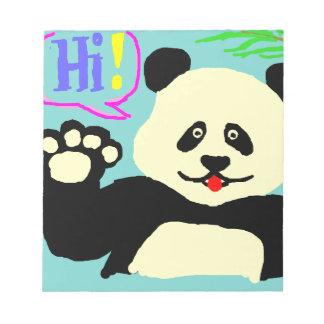 Hi Panda! Notepad