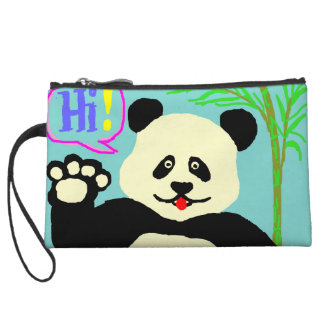 Hi Panda! Wristlet