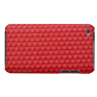 Hi-Res macro image of a studded ping pong Barely There iPod Cases