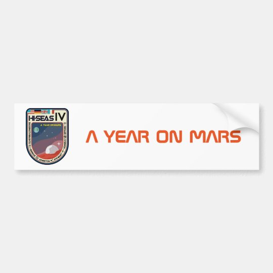 HI-SEAS IV Bumper Sticker