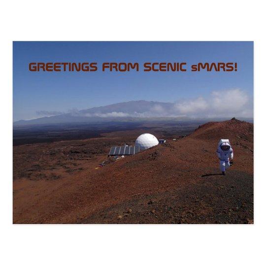 "HI-SEAS IV ""Scenic sMars"" Postcard"