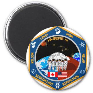 HI-SEAS Mission III Gear 6 Cm Round Magnet