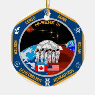 HI-SEAS Mission III Gear Christmas Ornament