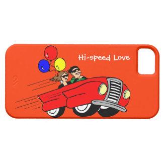 Hi Speed love iPhone 5 Case