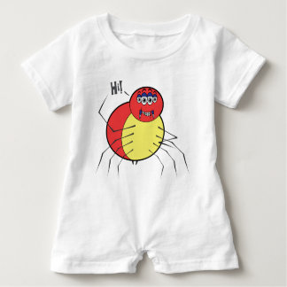 Hi Spidey Baby Romper Baby Bodysuit