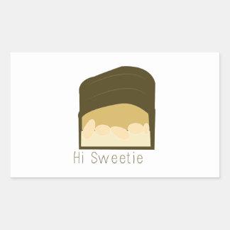 Hi Sweetie Stickers