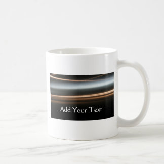 Hi Tech Bronze Wave Business Classic White Coffee Mug