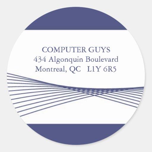 Hi-Tech Business ::: Address Labels Sticker