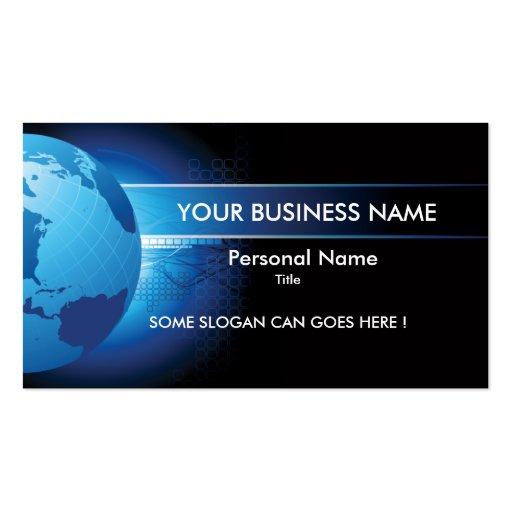 Hi-Tech Business Concept Business Card