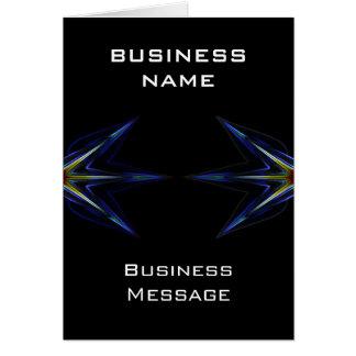 Hi Tech Business Note Card