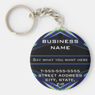 Hi Tech Futuristic Business Keychains