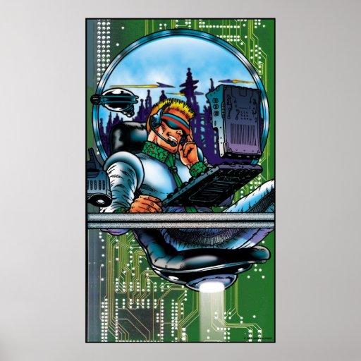 Hi-Tech Guy Poster