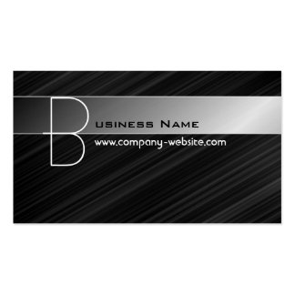 Hi-tech Monogram Business Card
