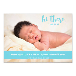 Hi there Baby boy blue birth announcement