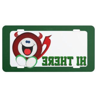 Hi there Little devil License Plate