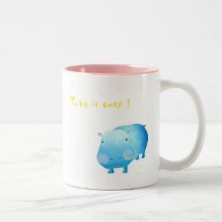 hi tsu po magukatsupu Two-Tone mug