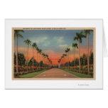 Hialeah, Florida - Miami Jockey Club Driveway Card