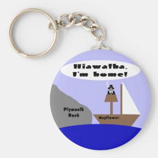 Hiawatha I m Home Key Chains
