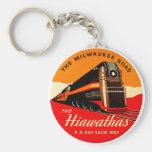 Hiawathas Train Key Chain