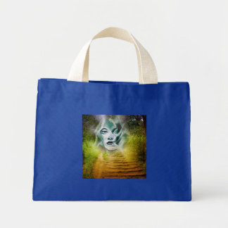 Hibiscus 6 mini tote bag
