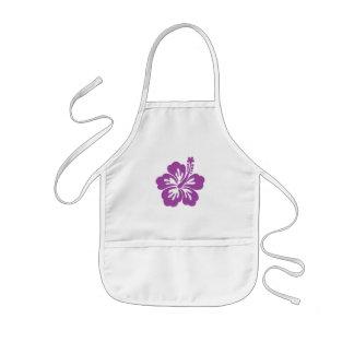 hibiscus aloha flower kids apron