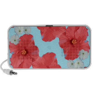 Hibiscus and cherry blossoms mp3 speaker