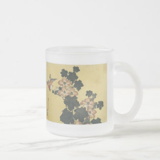 Hibiscus and Sparrow, Hokusai, 1833-34 Mug