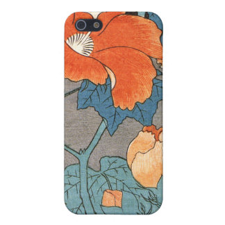 Hibiscus, Ando Hiroshige iPhone 5/5S Cover