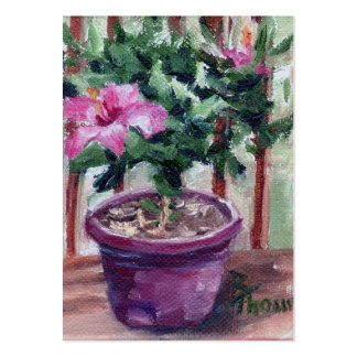 Hibiscus Art Card Pack Of Chubby Business Cards