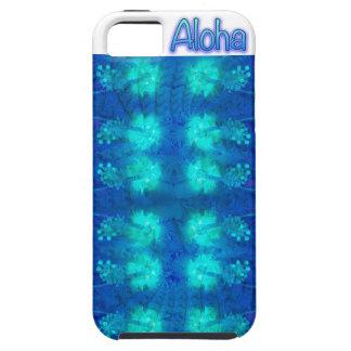 Hibiscus Blue Aloha iPhone 5 Covers