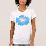 hibiscus blue tshirt
