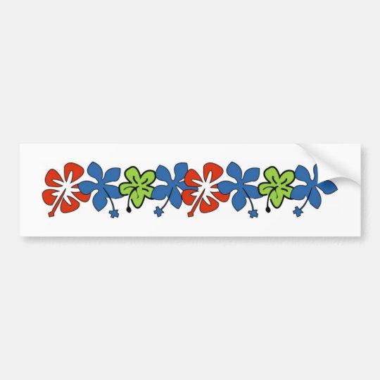 Hibiscus- Bumper Sticker