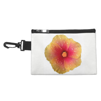 Hibiscus Clip On Travel Accessory Bag