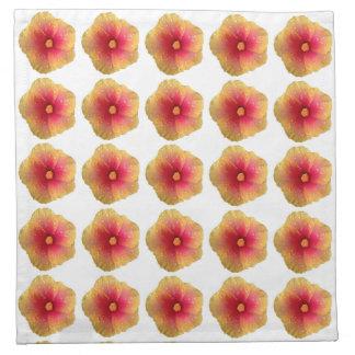 Hibiscus Cloth Napkins