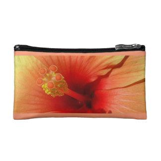 Hibiscus cultural bag cosmetic bag